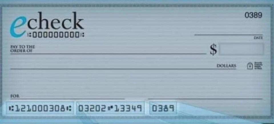 El cheque electrónico entra en vigencia desde el lunes