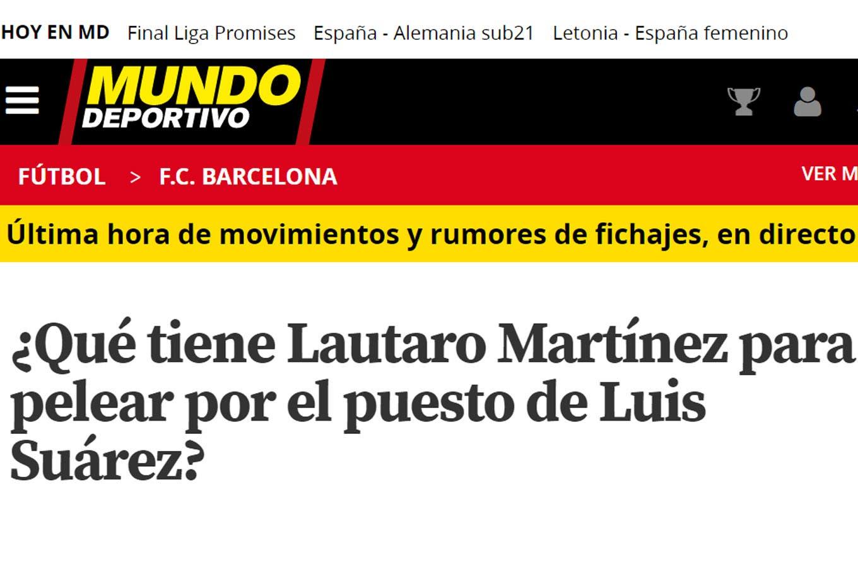 Buscado: los goles de Lautaro Martínez en la Copa América lo ponen en el radar de los grandes de Europa