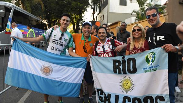 Se agotaron las entradas para la semifinal entre Brasil y Argentina