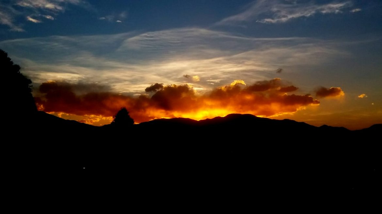 Un espectacular amanecer enamoró a todos en Jujuy