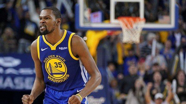 Golden State retirará el número 35 en homenaje a Kevin Durant