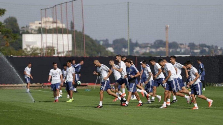 El día de la Selección Argentina mientras espera el partido con Brasil