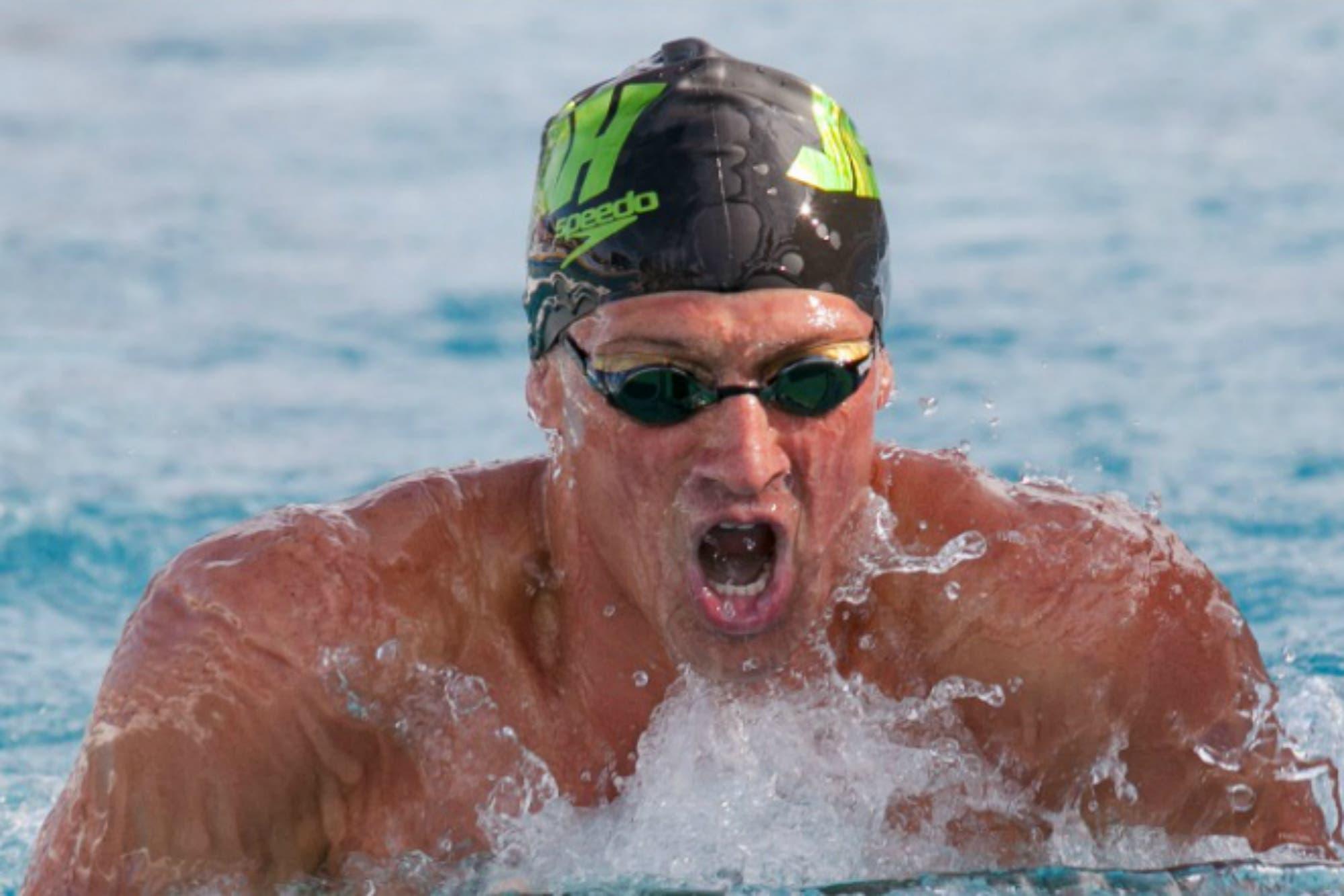 Sin escándalos, alcohol ni mentiras: el nadador Ryan Lochte volvió y le apunta a Tokio 2020