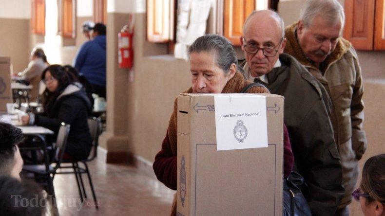 En Jujuy, hasta el mediodía, no había votado ni el 30% del padrón