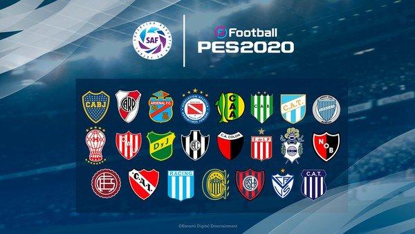 Con Boca y River como protagonistas, PES 2020 hizo su presentación oficial en Argentina