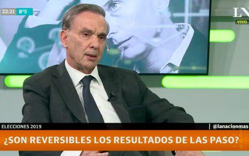 """Miguel Ángel Pichetto analizó la campaña K: """"A Cristina la han ocultado"""""""