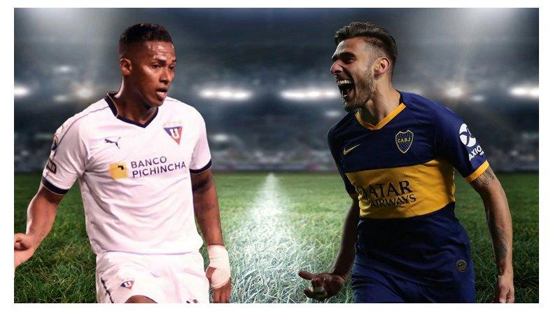 Boca visita a la Liga de Quito por la ida de los cuartos de final de la Libertadores