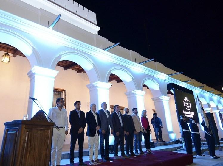 Inauguraron nueva fachada del Cabildo Jujeño