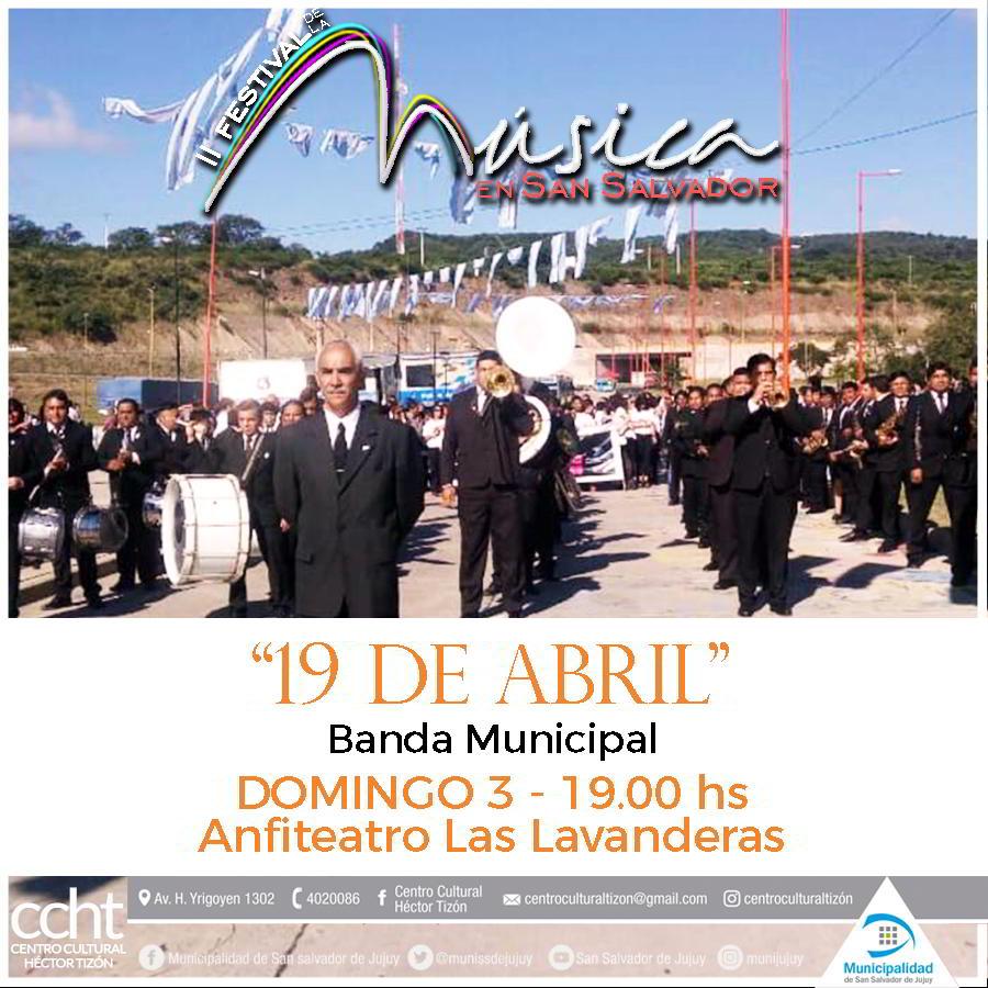 Retreta Banda Municipal «19 de Abril»