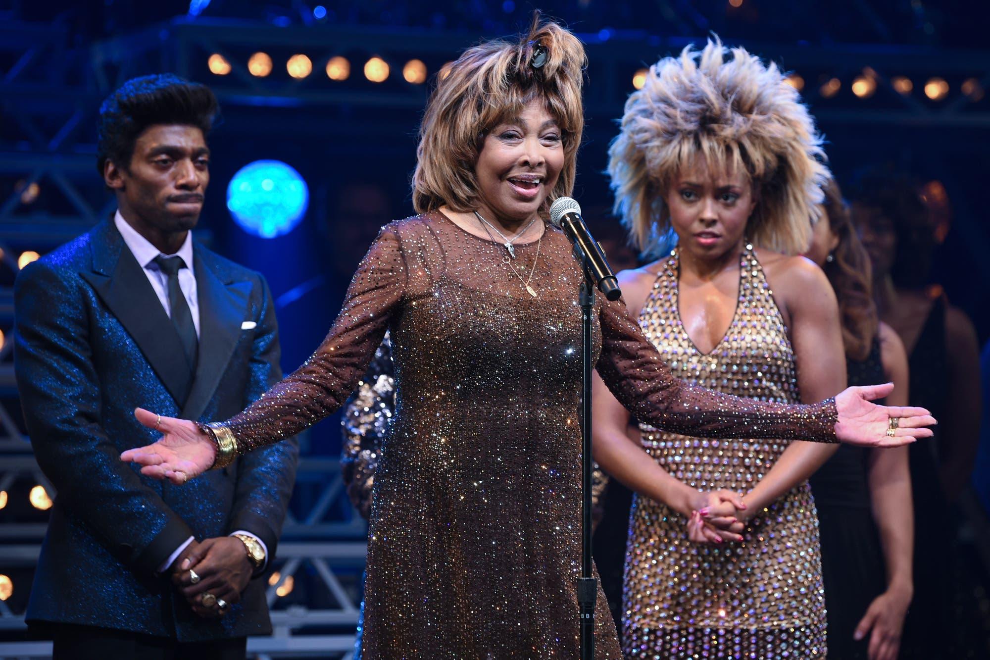La emoción de Tina Turner durante el estreno del musical basado en su vida