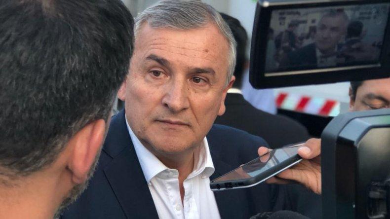 """""""Lo que disparó la situación de Bolivia fue el abuso de poder"""" dijo Gerardo Morales y le respondió a Grabois"""