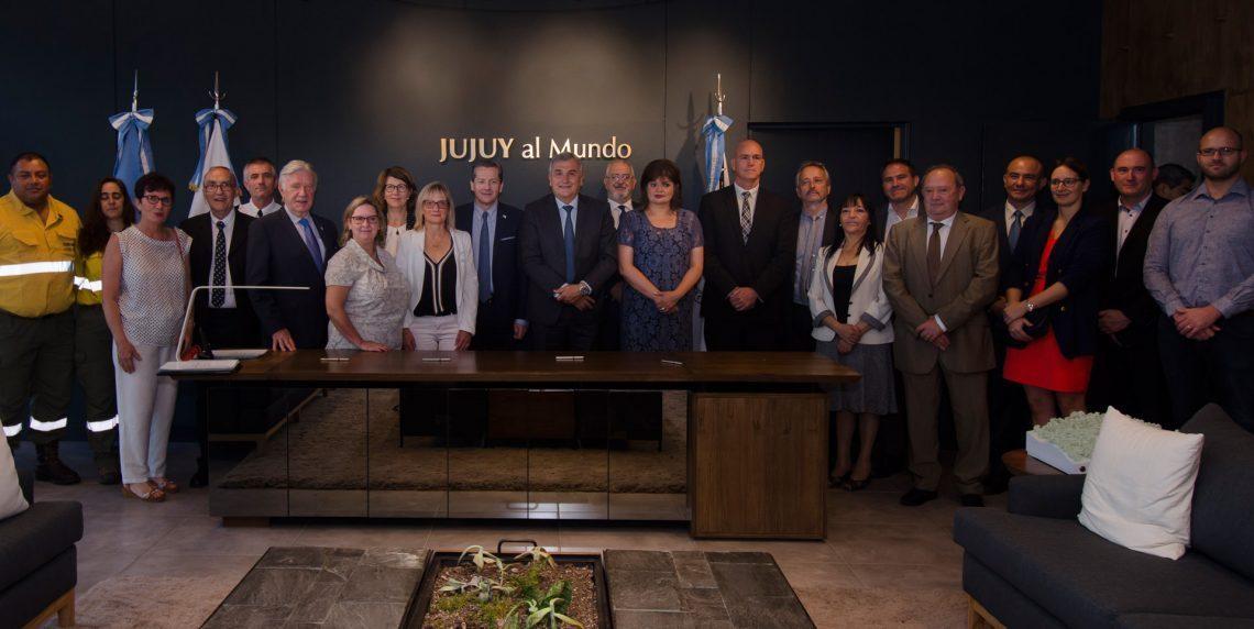 Jujuy estrecha vínculos con Francia