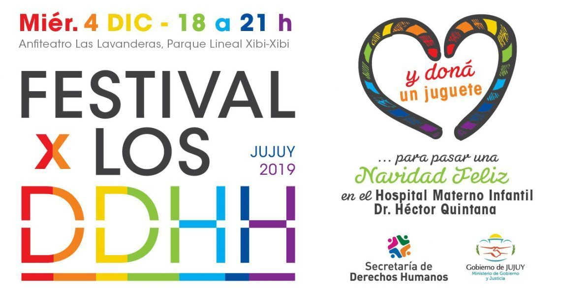 Realizan Festival por los Derechos Humanos