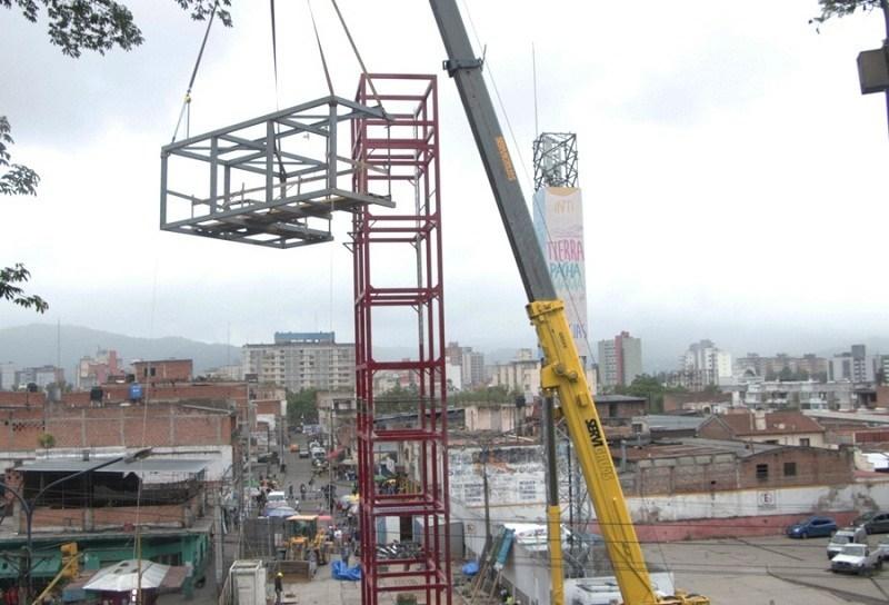 La Ciudad se prepara para tener el primer ascensor urbano del País