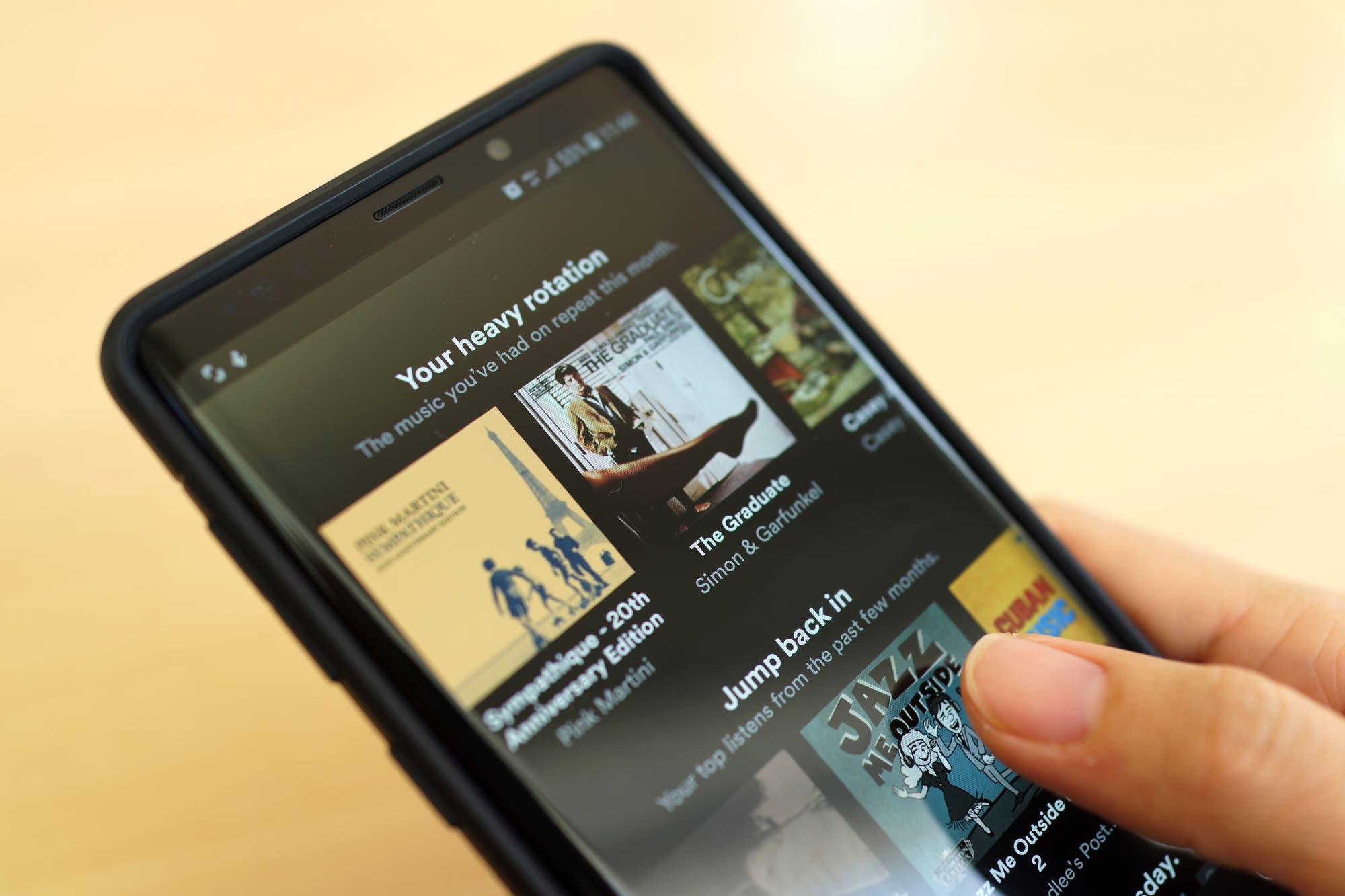 Tu 2019 en Música: Spotify ofrece un ranking a medida con las canciones que más sonaron en tu perfil