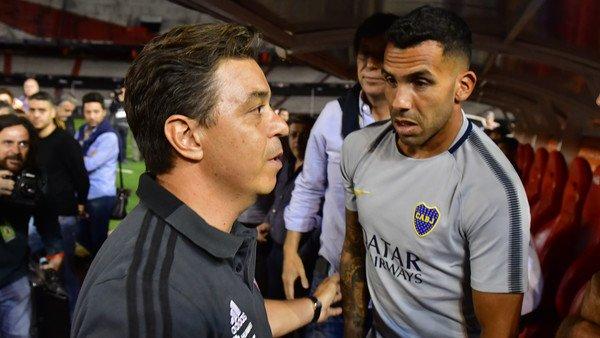 """El elogio de Carlos Tevez: """"Como técnico, Gallardo es un fenómeno"""""""