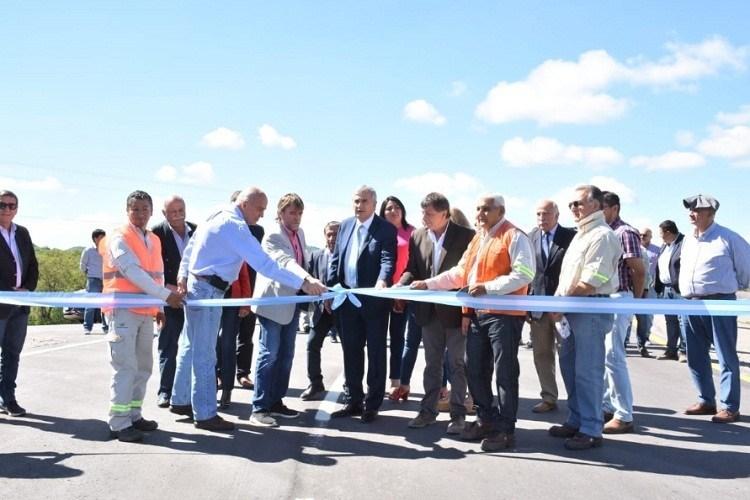 Inauguraron la mejora integral de la Ruta Provincial 2