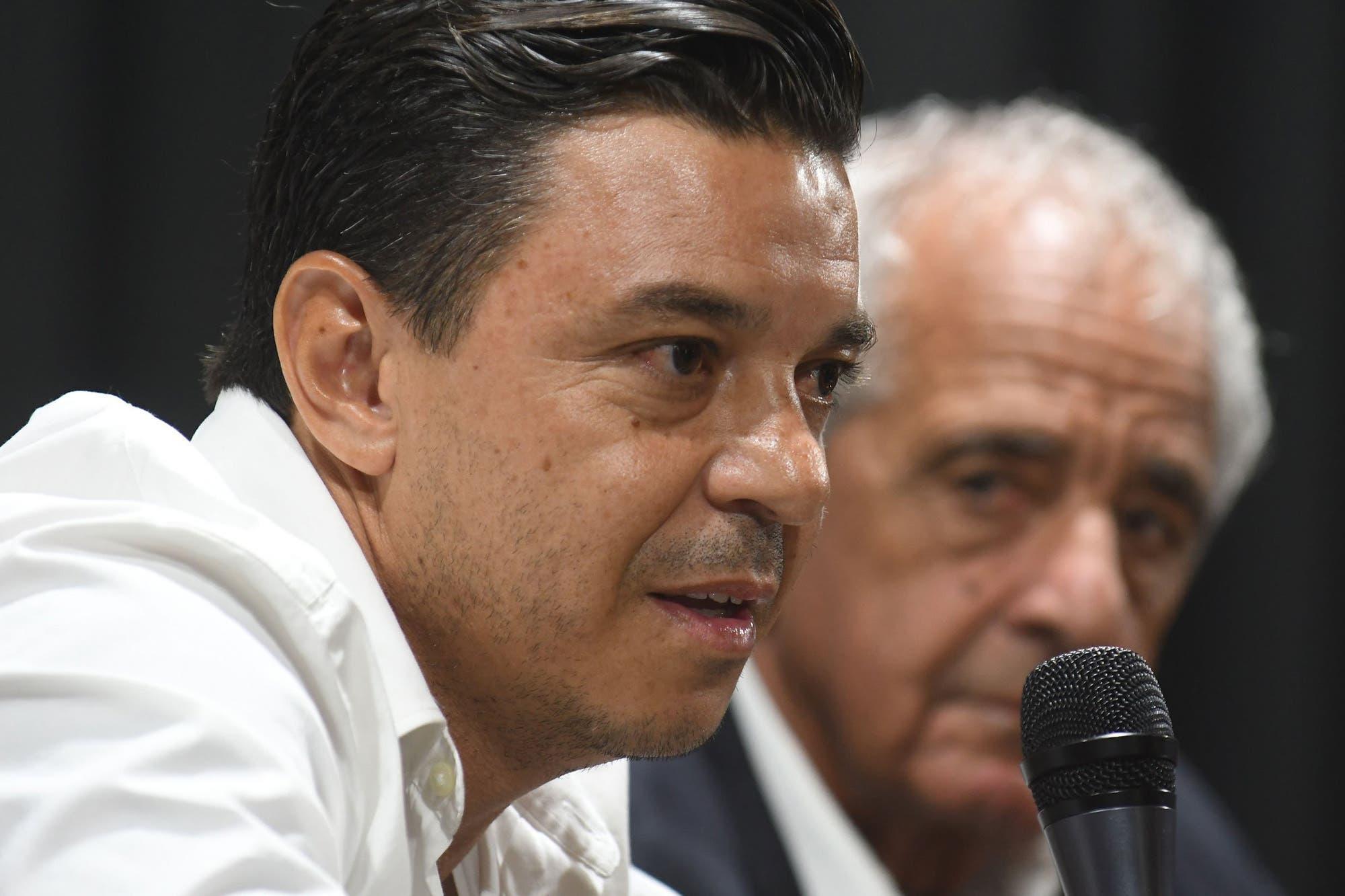 Gallardo no lo dice pero no lo niega: su continuidad depende de lo que tenga como plantel en 2020