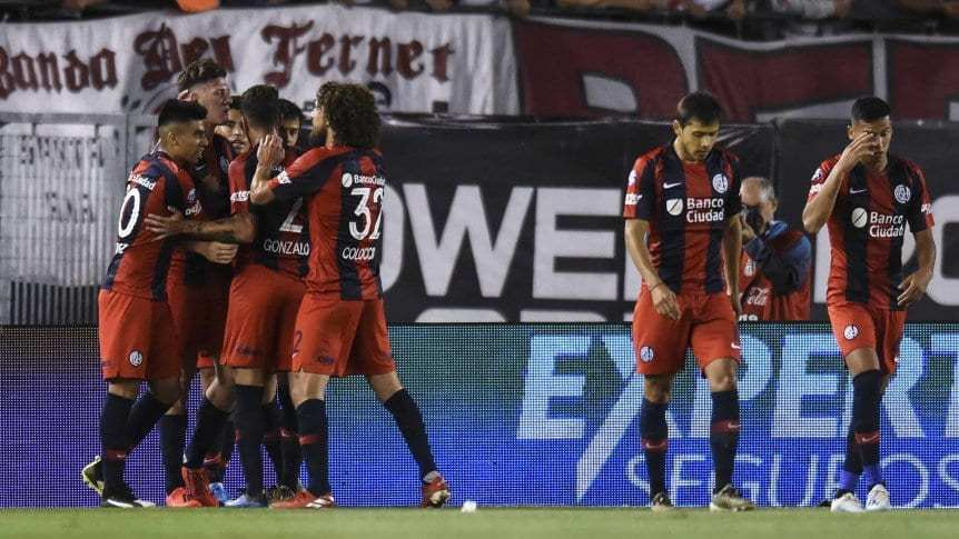 San Lorenzo ganó un partidazo y dejó sin punta a River