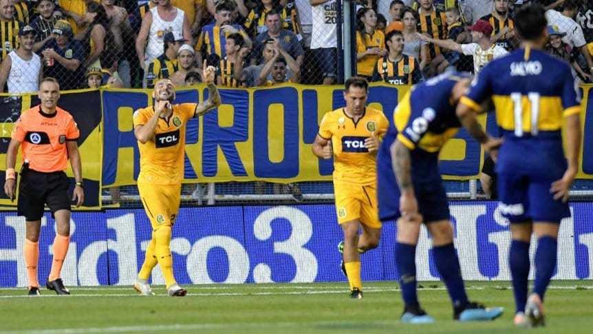 Rosario Central golpeó a Boca y también se prende en la pelea
