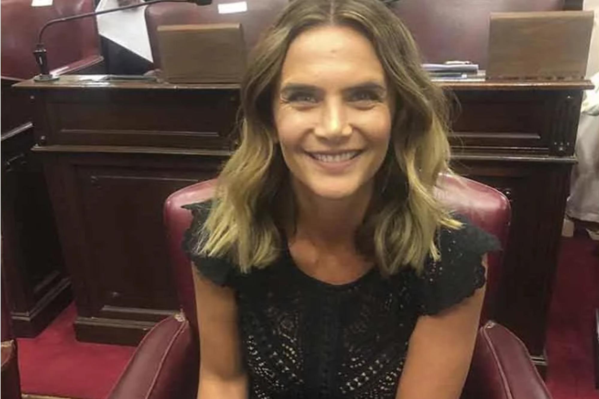 """Amalia Granata le contestó a Jorge Rial: """"No me podían ver feliz jurando"""""""