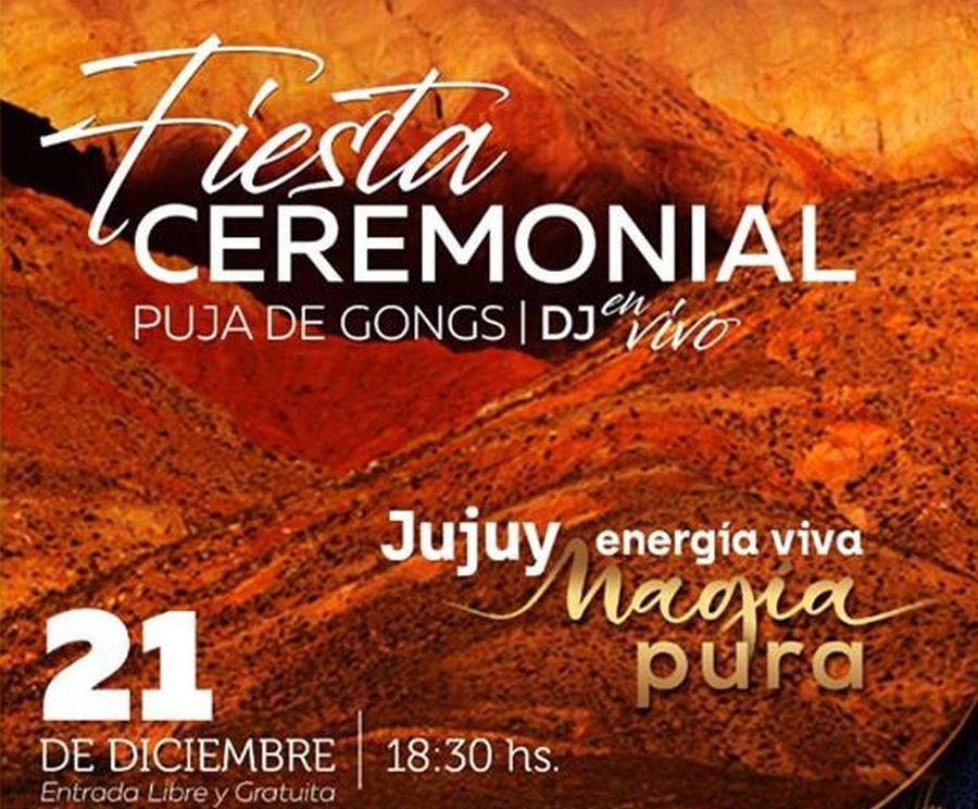 Lanzamiento de Temporada Turística 2020 y celebración del solsticio de verano en Purmamarca