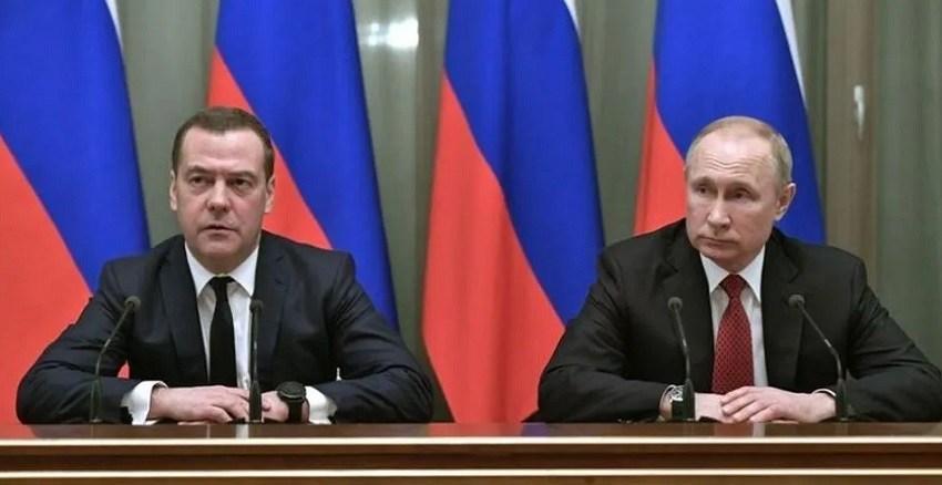 Sorpresiva renuncia de todo el gabinete de Vladimir Putin