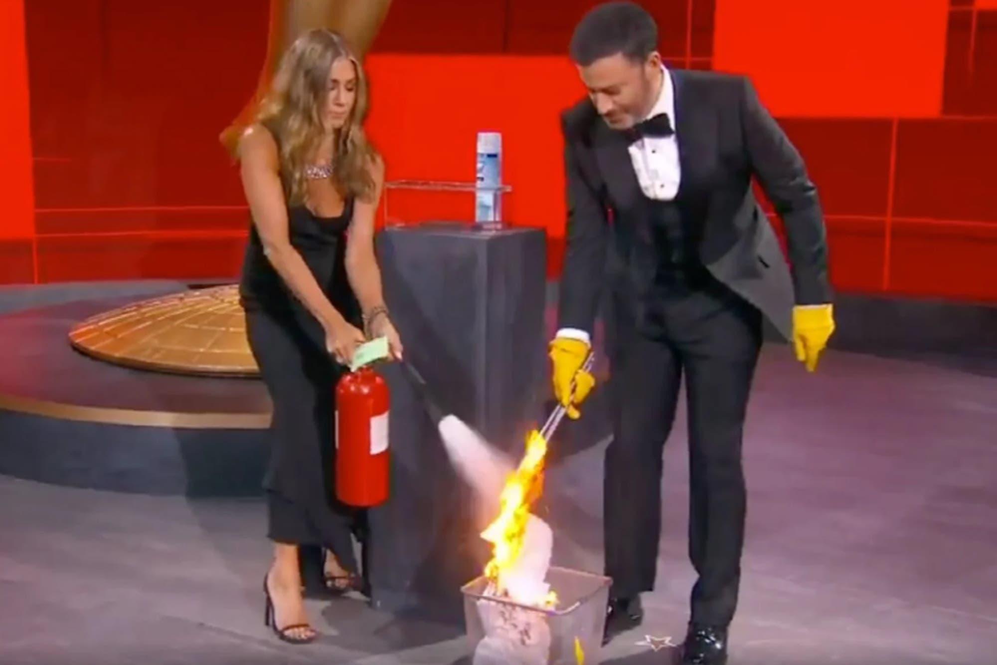 Del blooper de Jennifer Aniston en los Emmy al reencuentro de Friends