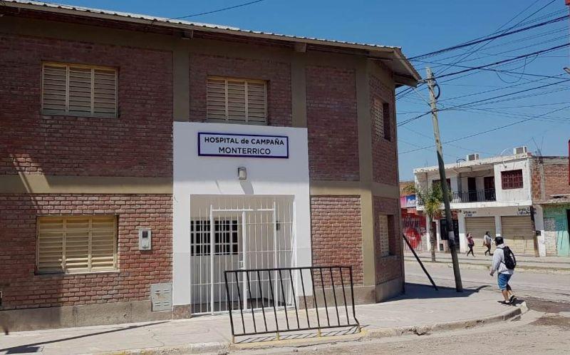 Monterrico: concluyeron las obras del Hospital de Campaña en el Centro Municipal Canacadi