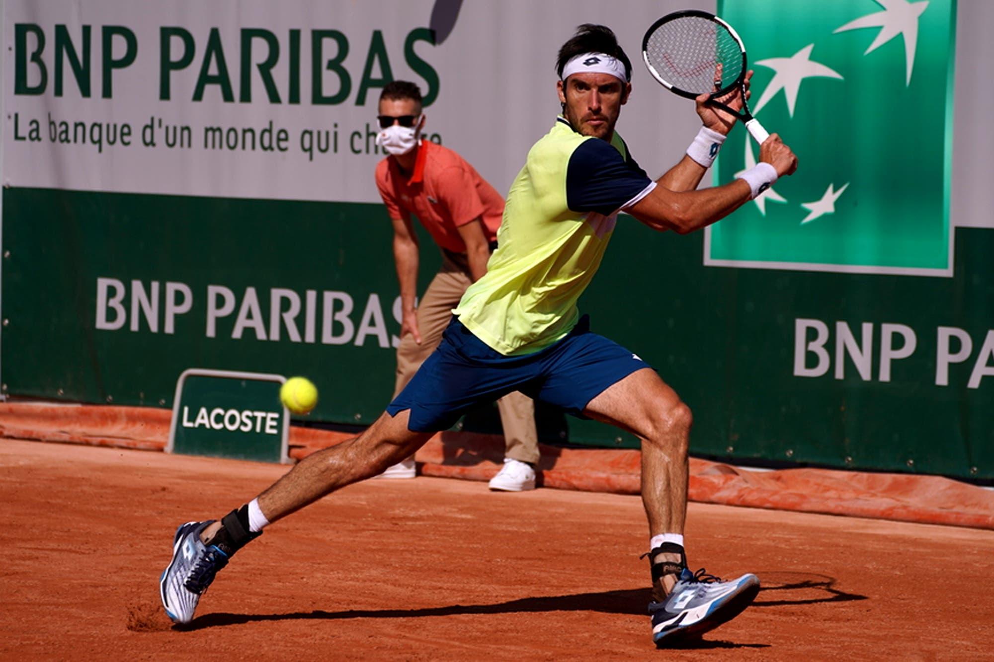 Roland Garros. Los cuatro tenistas argentinos que avanzaron a la segunda ronda de la clasificación