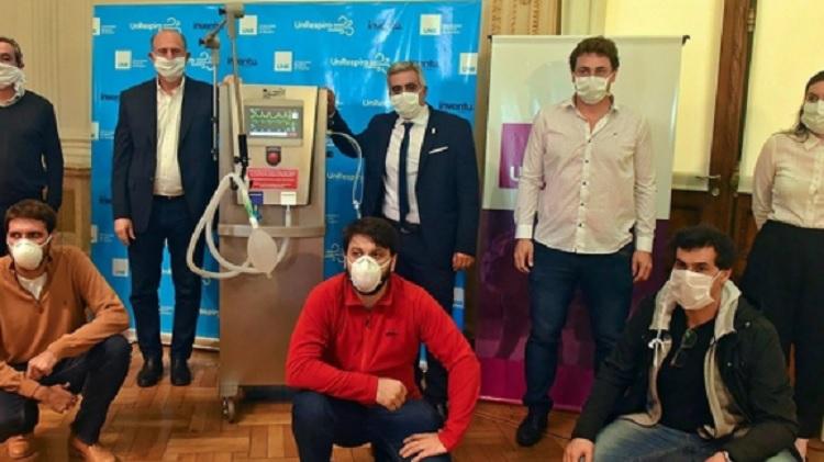 ANMAT aprobó los respiradores desarrollados por la Universidad de Rosario