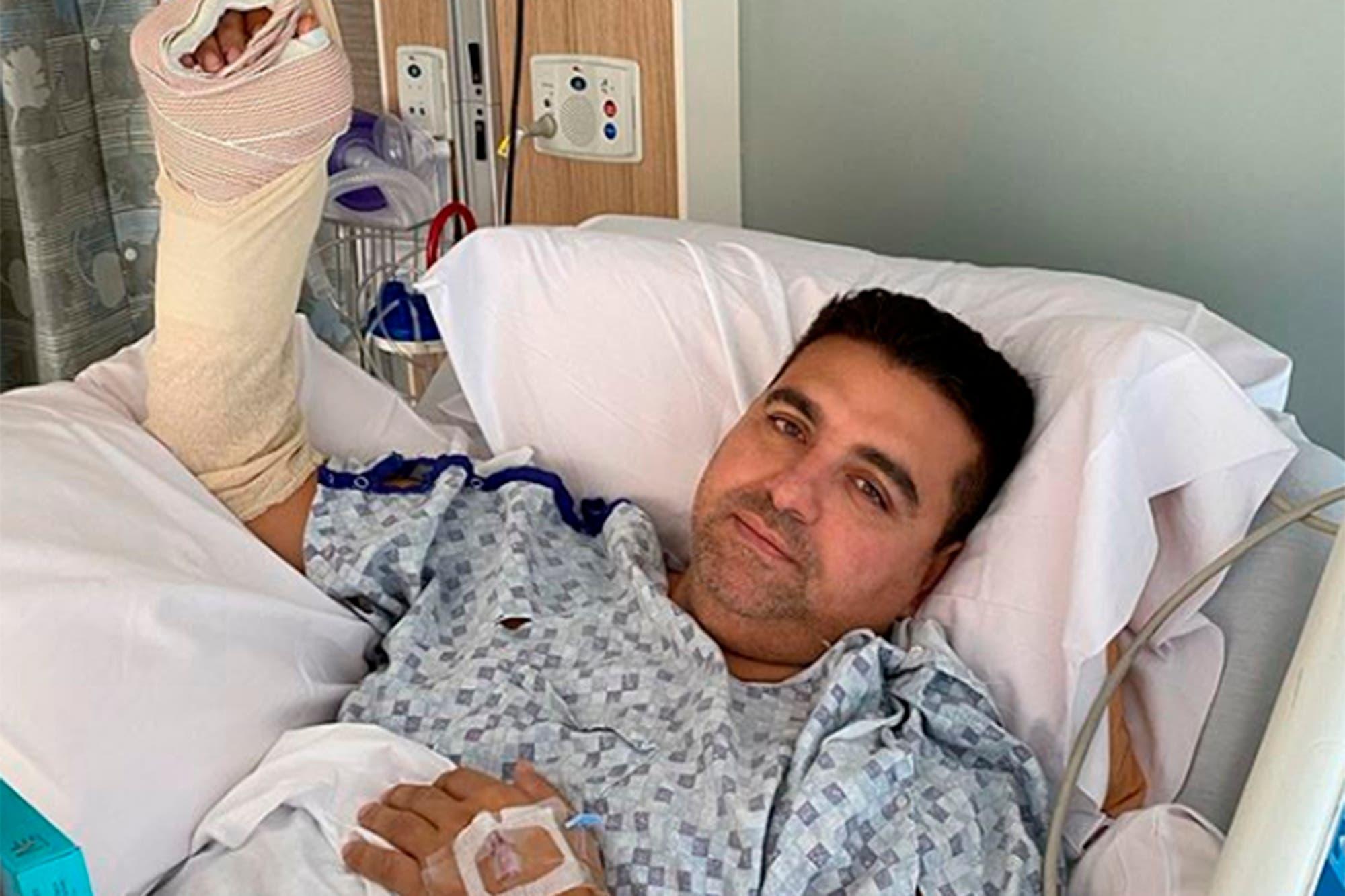 Buddy Valastro, del reality Cake Boss, sufrió un grave accidente en su mano derecha