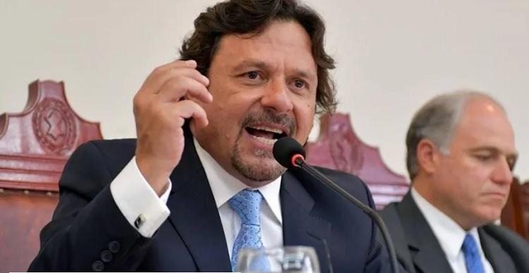 El gobernador Gustavo Sáenz sostuvo que Ameri «no representa los valores salteños»