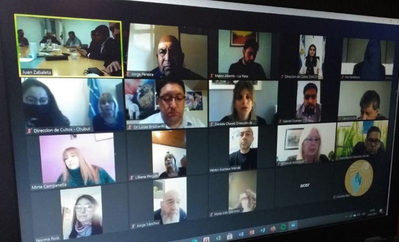 Encuentro nacional virtual de direcciones y oficinas de cultos