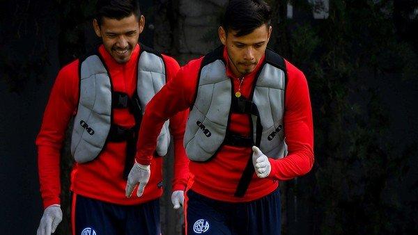 San Lorenzo le levantó la sanción y Ángel Romero se entrenó junto al resto del plantel