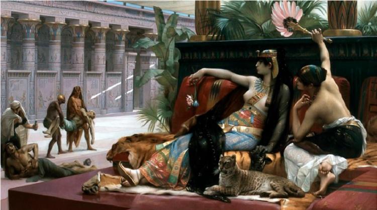 """La belleza del día: """"Cleopatra prueba venenos en los prisioneros"""", de Alexandre Cabanel"""