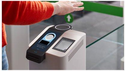 Cómo es el nuevo sistema para pagar con la palma de la mano