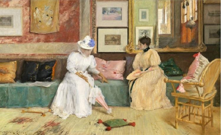"La belleza del día: ""La llamada amistosa"", de William Merritt Chase"
