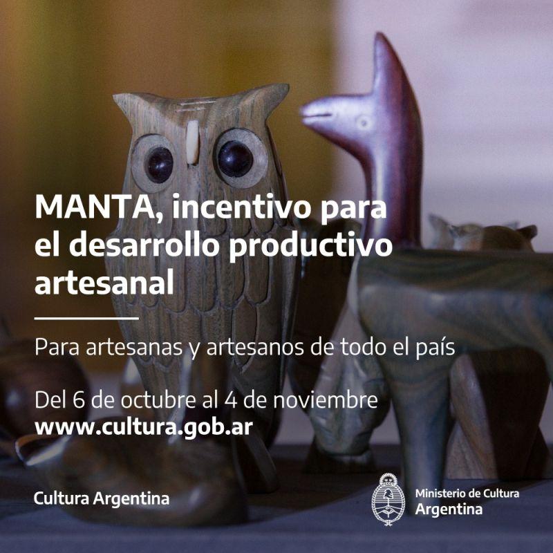 "Convocatoria ""Manta- beca para el desarrollo productivo artesanal"""