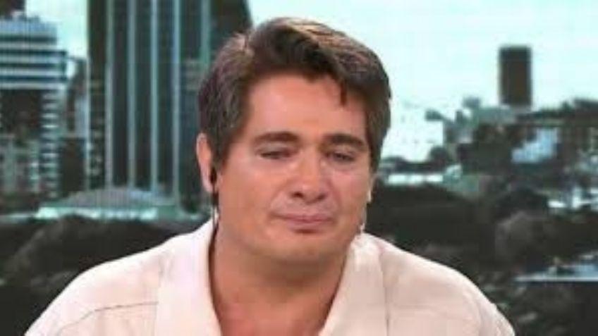 Las lágrimas de Guillermo Andino en su vuelta a la televisión