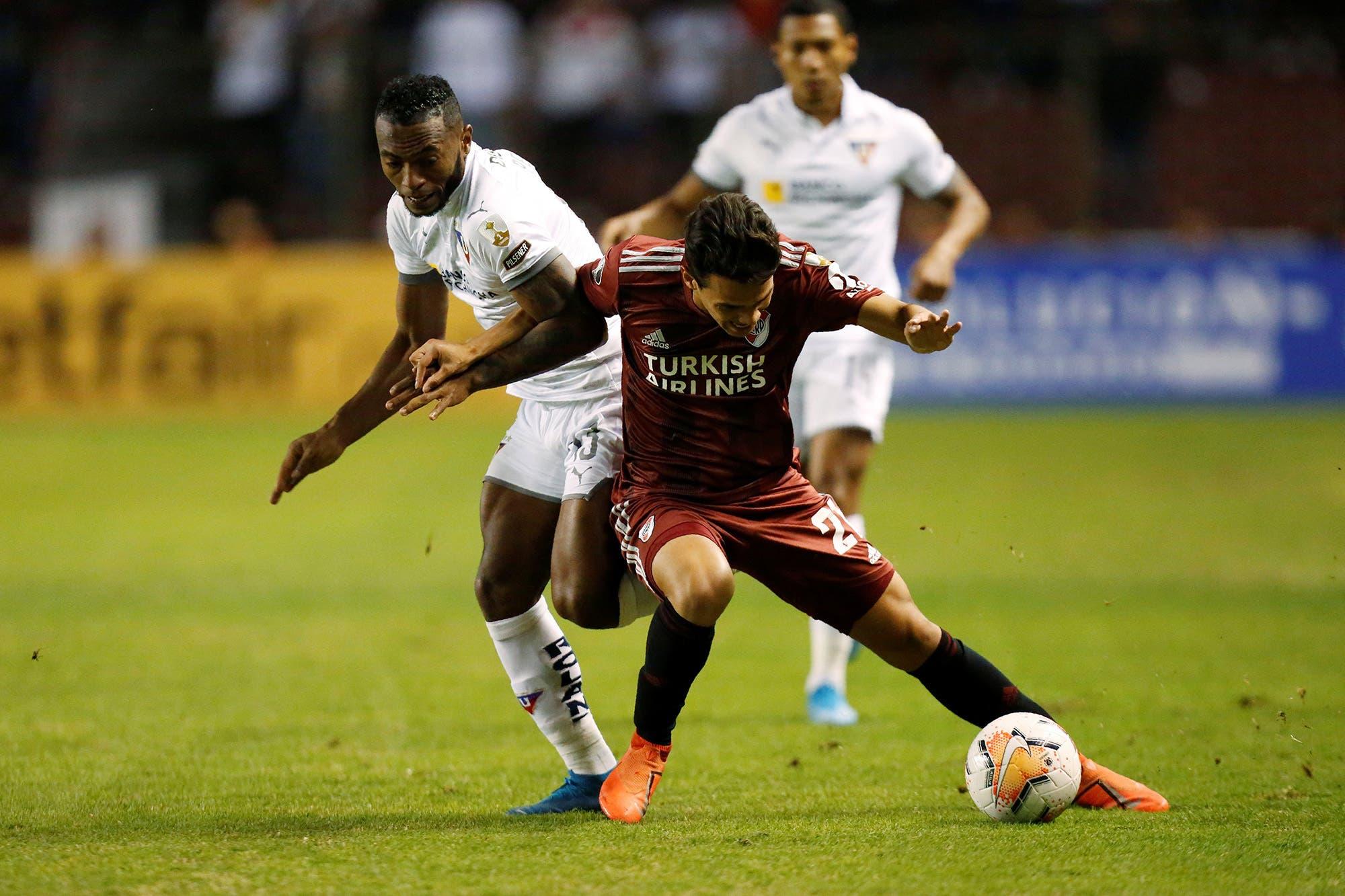 River-Liga de Quito: horario, TV y formaciones del partido por la Copa Libertadores