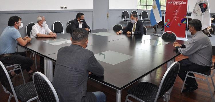 El Intendente Jorge recibió  a  Pastores de la comunidad  evangélica de Jujuy