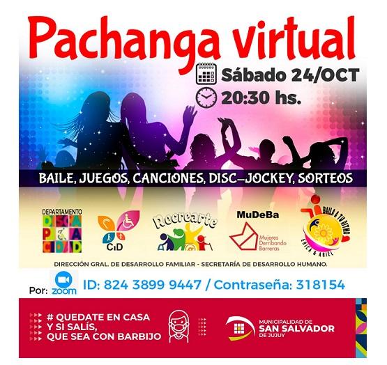 """Se viene """"Pachanga Virtual"""""""