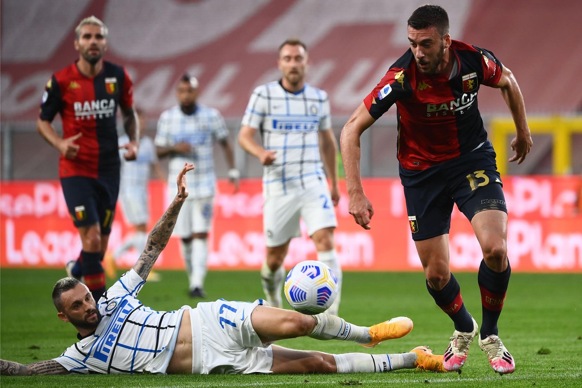 Genoa-Inter: uno de los duelos del sábado en la Serie A de Italia, con Lautaro Martínez