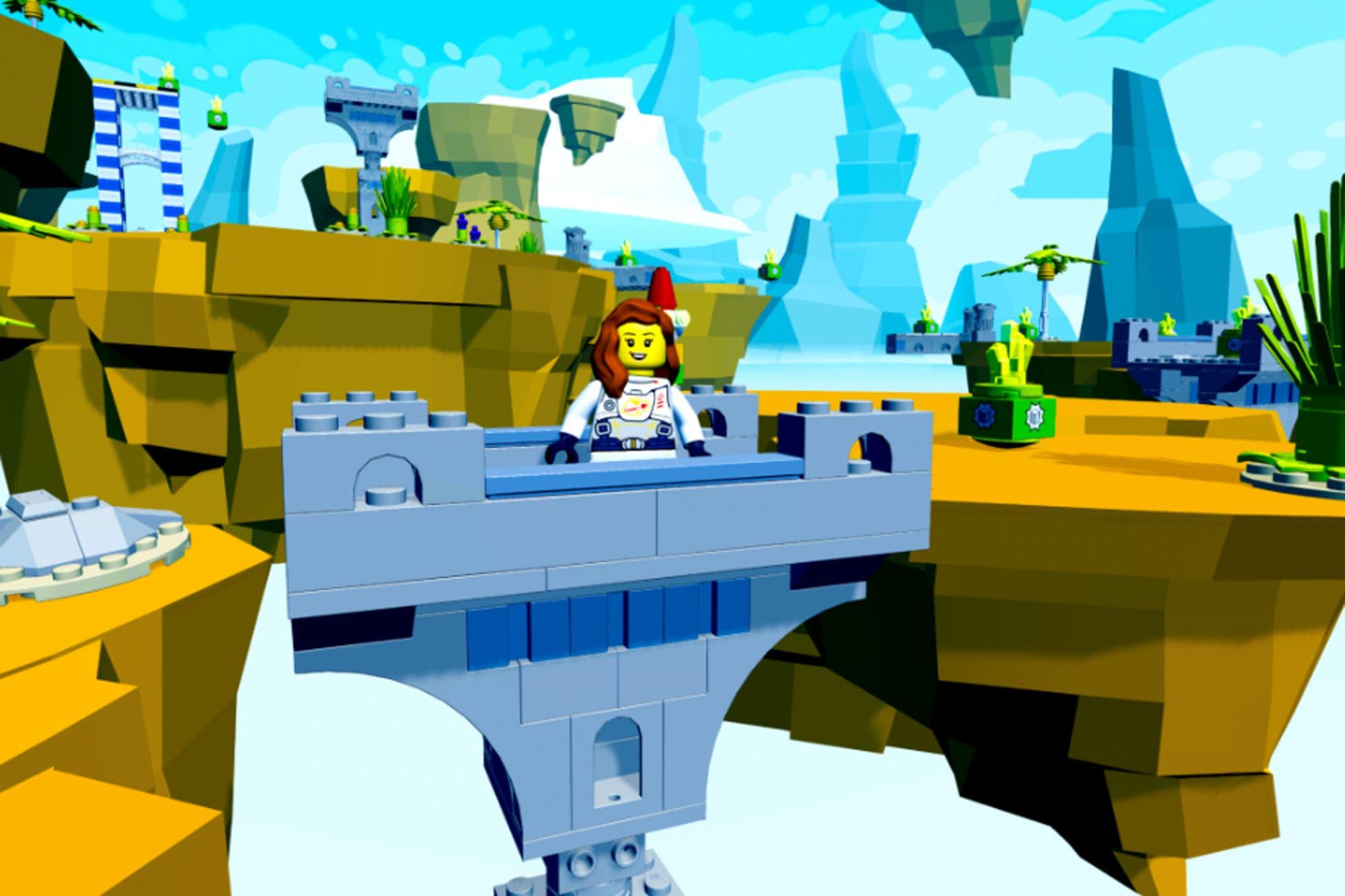 Sin código: ahora se puede crear un videojuego con bloques virtuales con Lego y Unity
