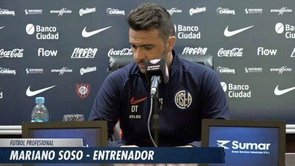 """Mariano Soso: """"Queremos que este San Lorenzo genere emoción en el hincha"""""""