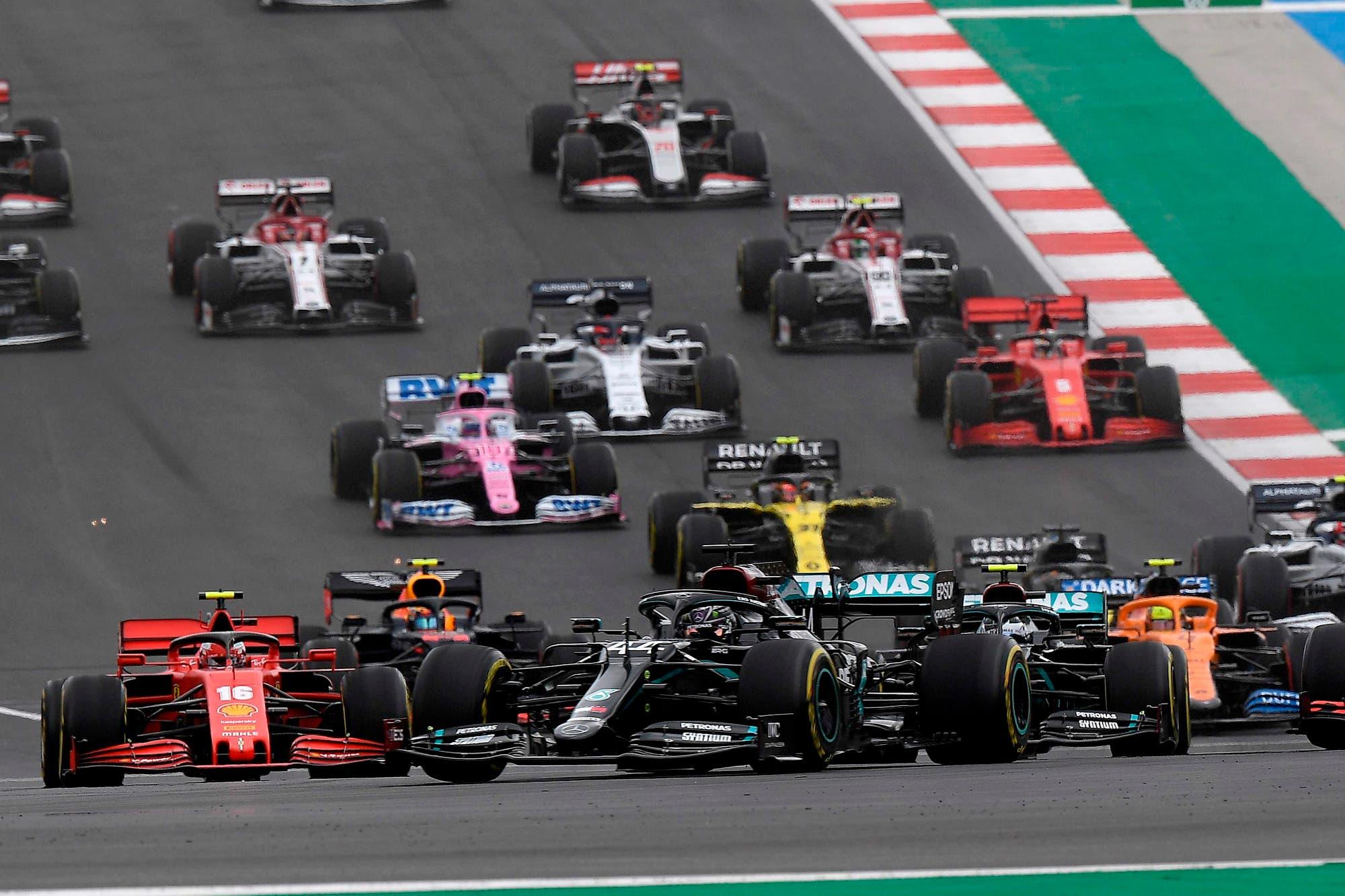 Fórmula 1. Gran Premio de Emilia Romagna: horarios y TV de las prácticas, la clasificación y la carrera del domingo