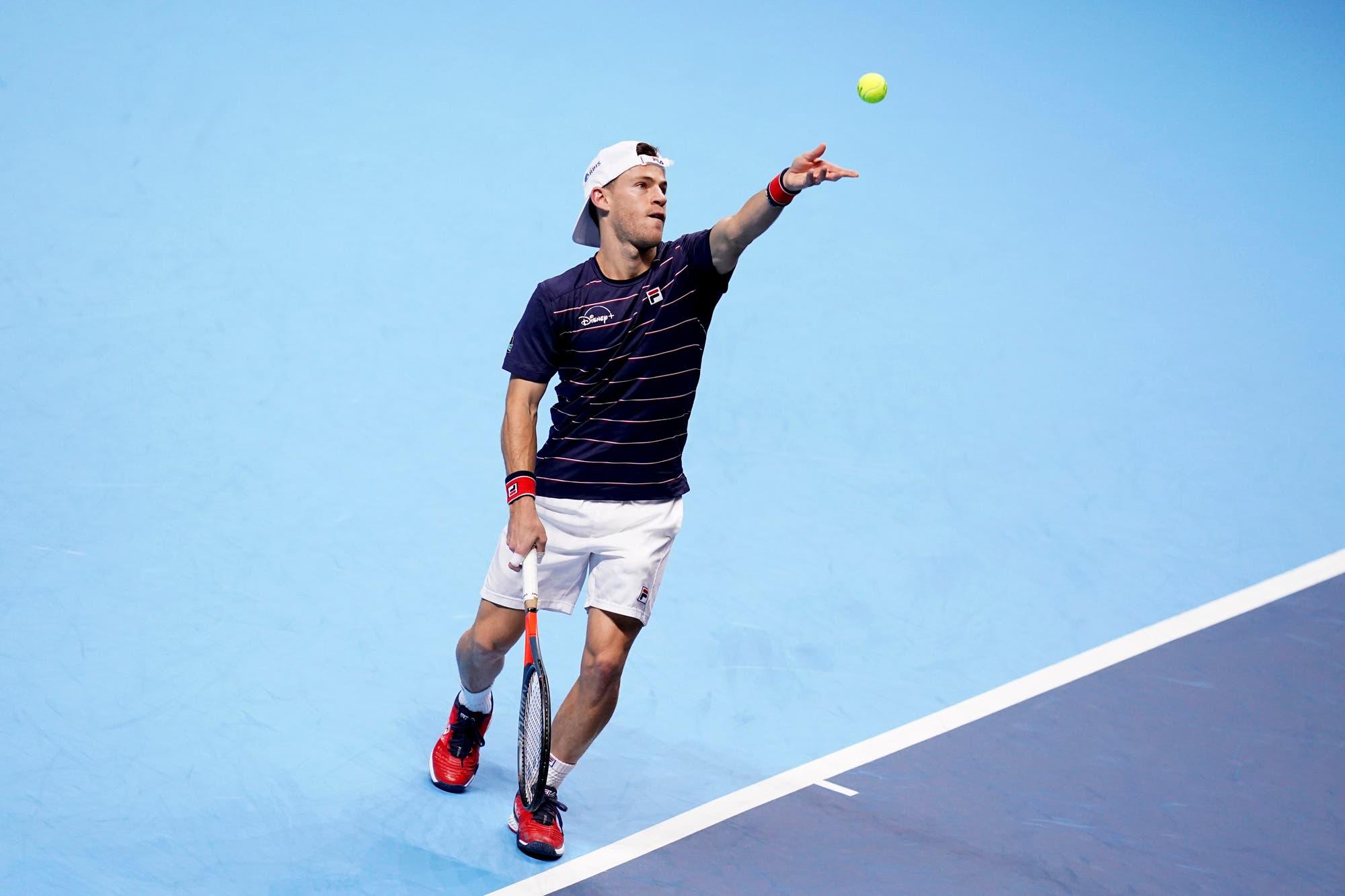 Diego Schwartzman-Novak Djokovic, por el Masters de Londres: el Peque perdió en el debut ante un rival imponente