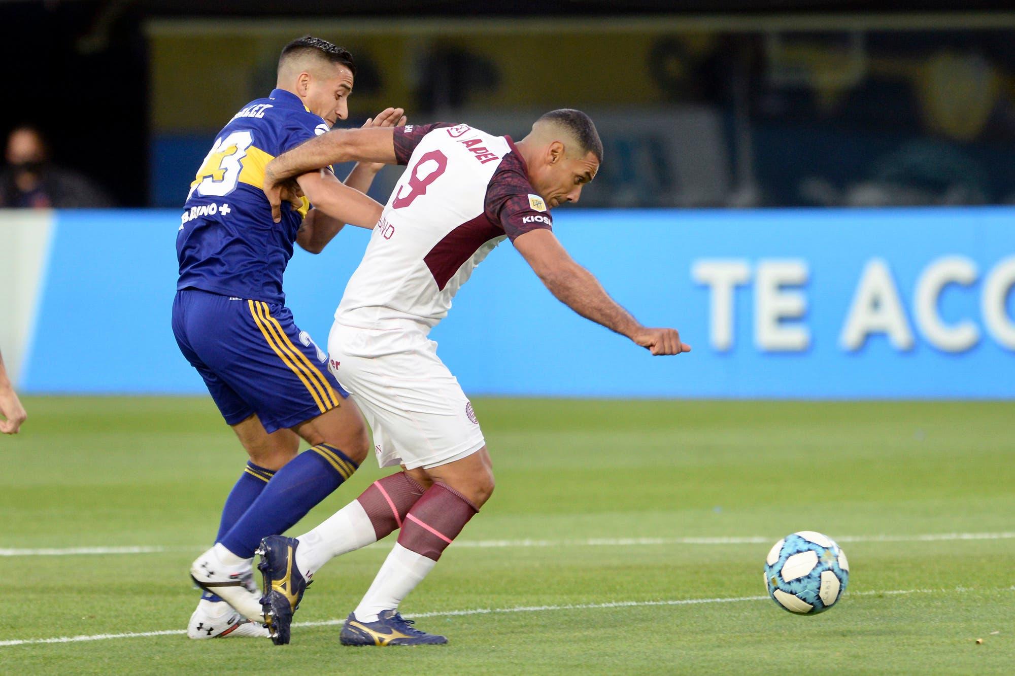 Boca-Lanús: con la vuelta de Zárate, el Xeneize pierde 2 a 0 con el Granate en la Bombonera