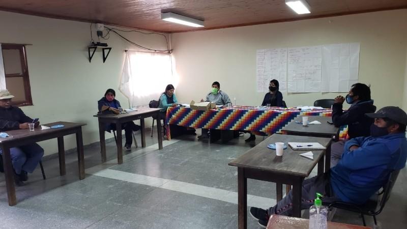 Mesa de concertación con las comunidades de la Puna
